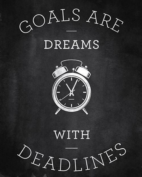 Goal Setting tips for the new Year!