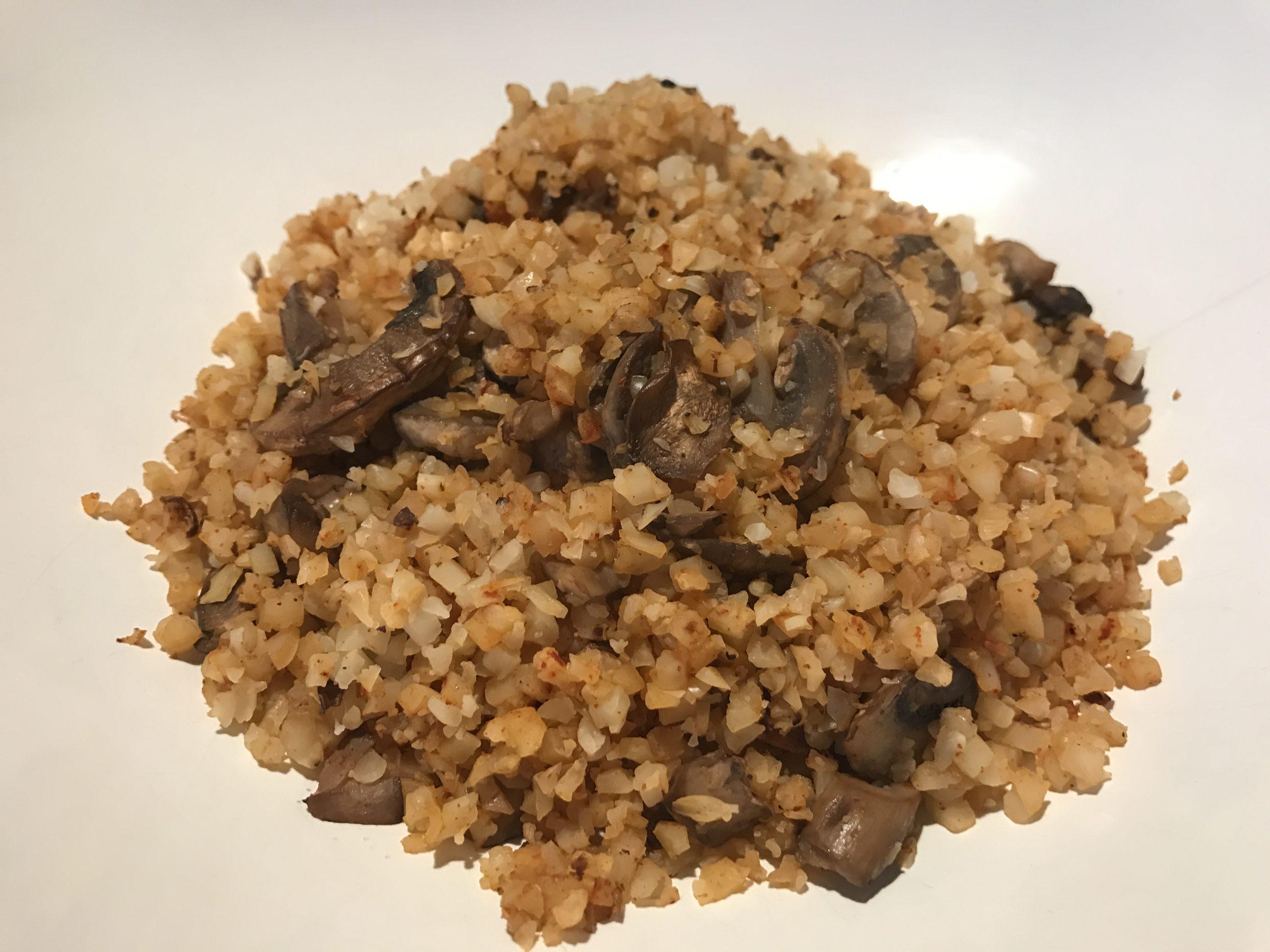 Smoked Paprika Cauliflower Rice
