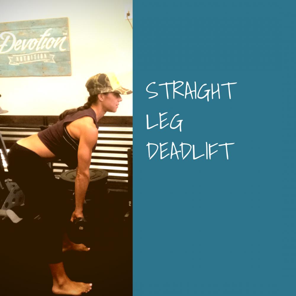 Straight Leg Deadlift Proper Form Gina Aliotti Fitness