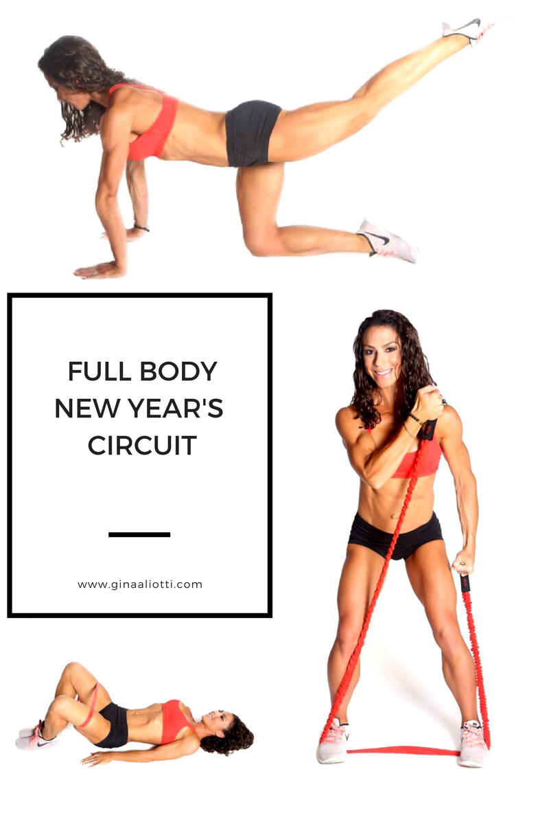 Gina's Full Body New Year's Circuit Workout