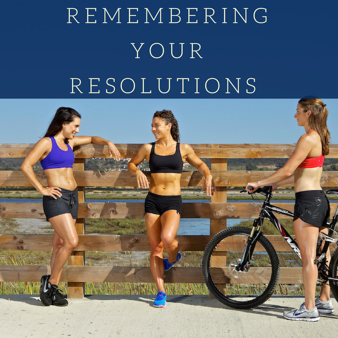 Remembering those Resolutions