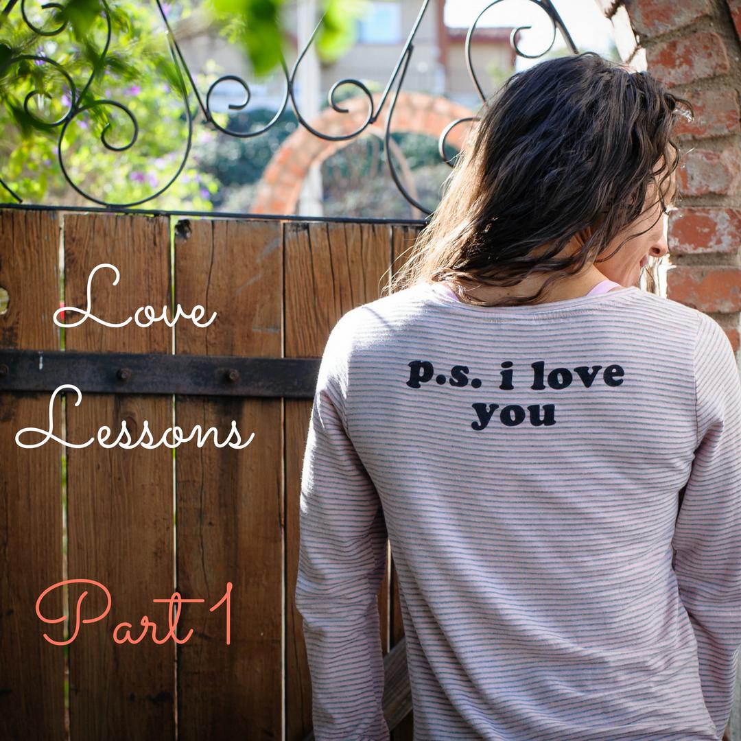 Love Lessons Part 1