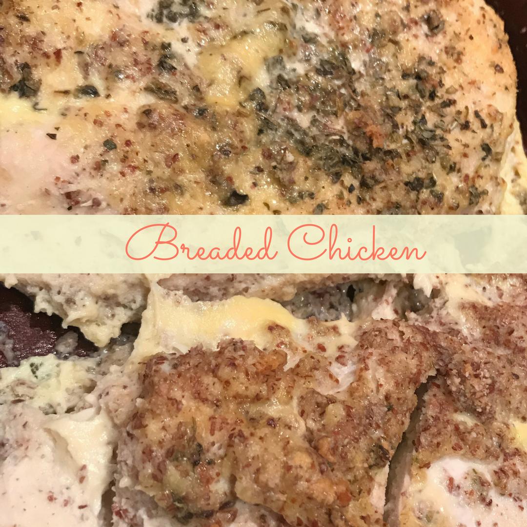 No Carb Breaded Chicken