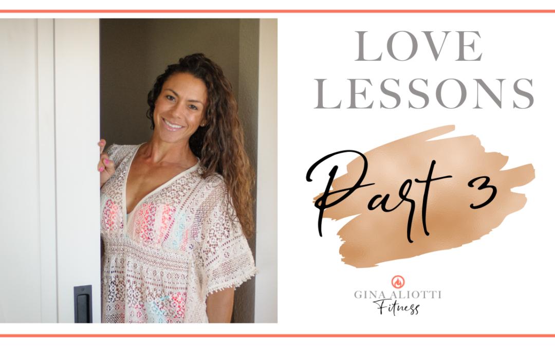 Love Lessons Part 3