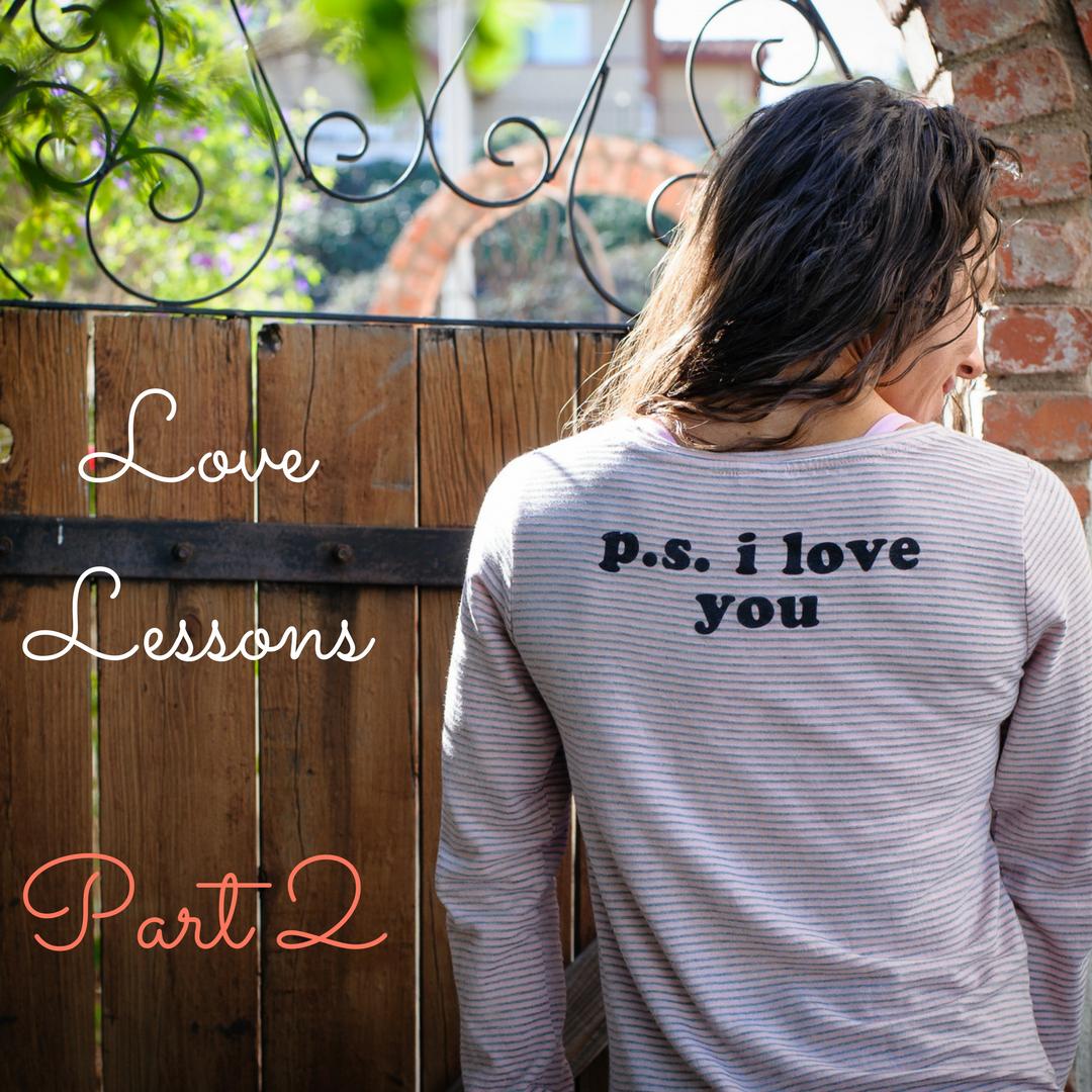 Love Lessons Part 2