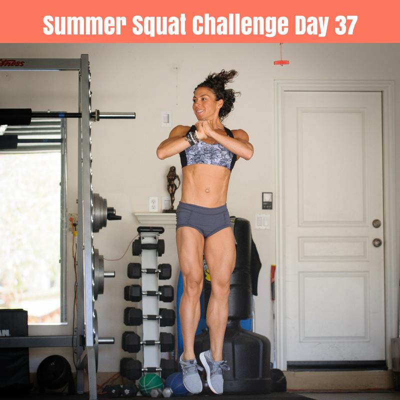180 Jump Squats (day 37) - Gina Aliotti Fitness
