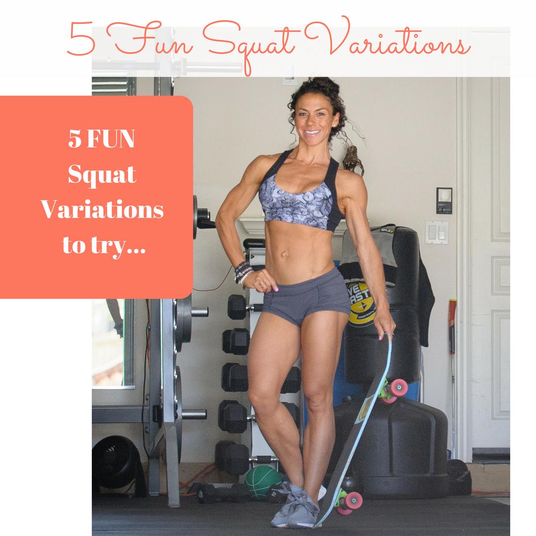 5 Fun Squat Variations