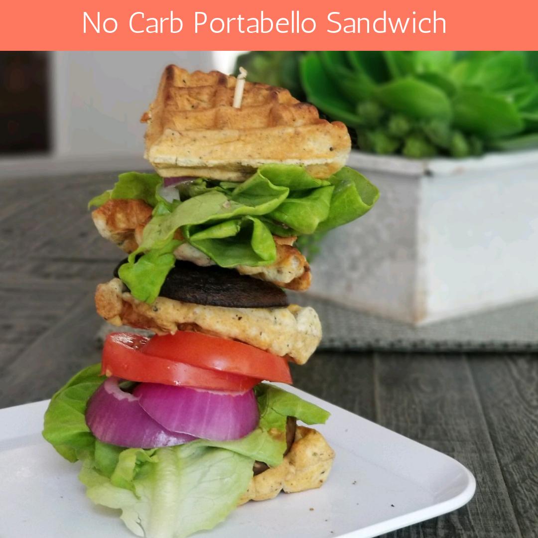 Guilt Free Low Carb Sandwich