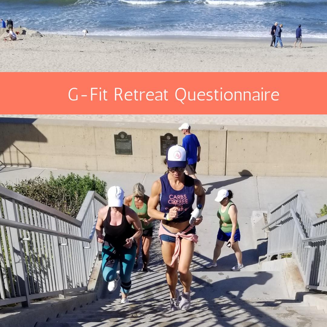 G-Fit Retreat Questionnaire