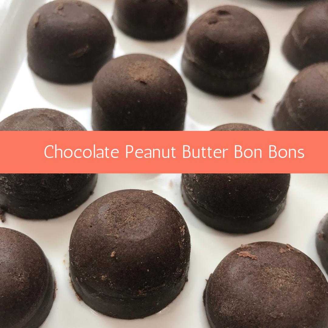 Chocolate Peanut Butter Bon Bons