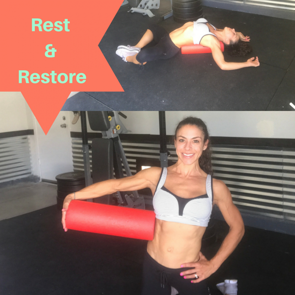 Rest & Restore with the Foam Roller