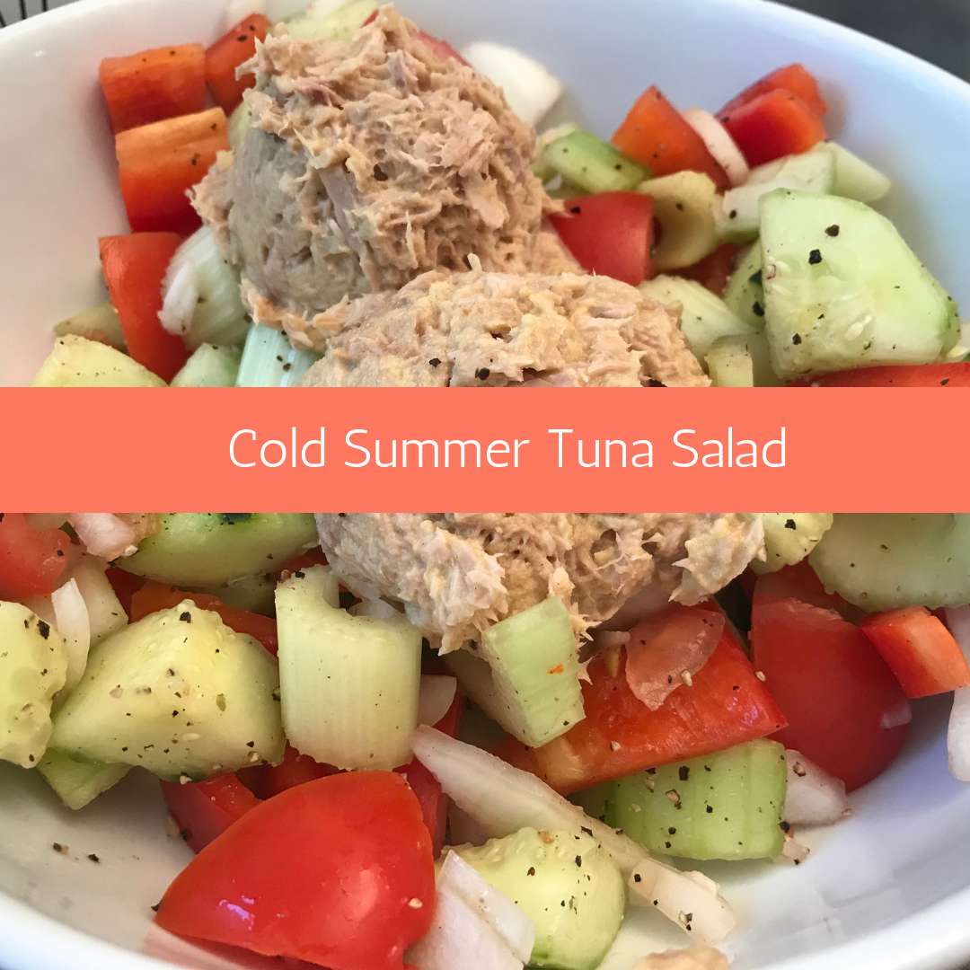 Cold Summer Tuna Salad