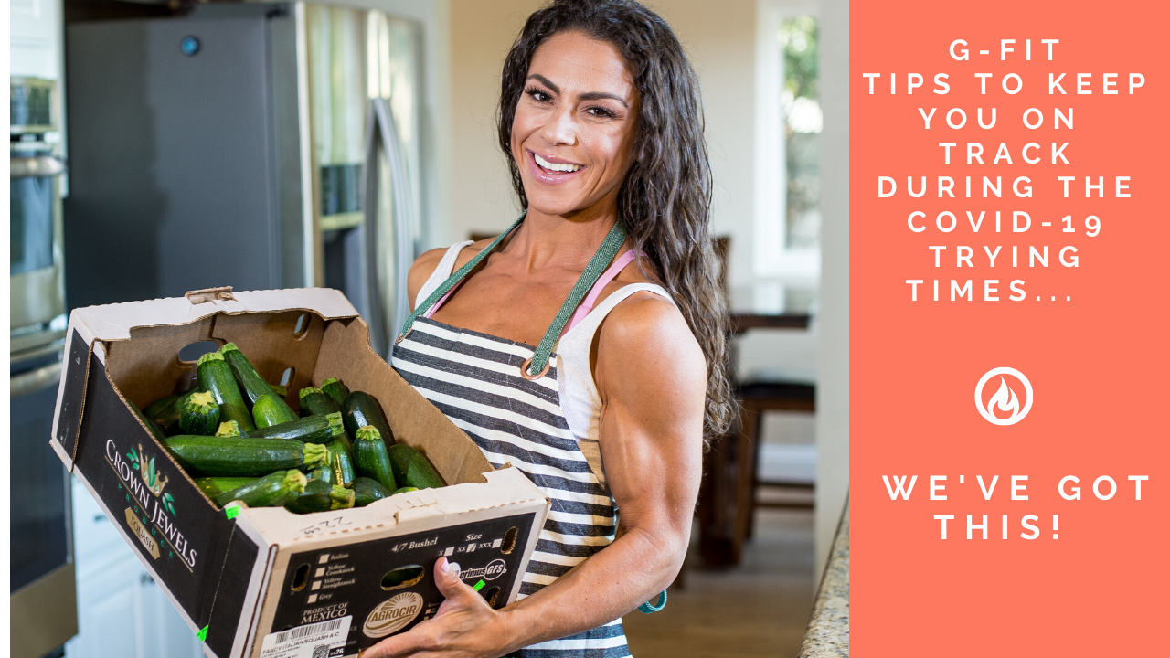 G-Fit Tips when your grocery store is out of your foods…