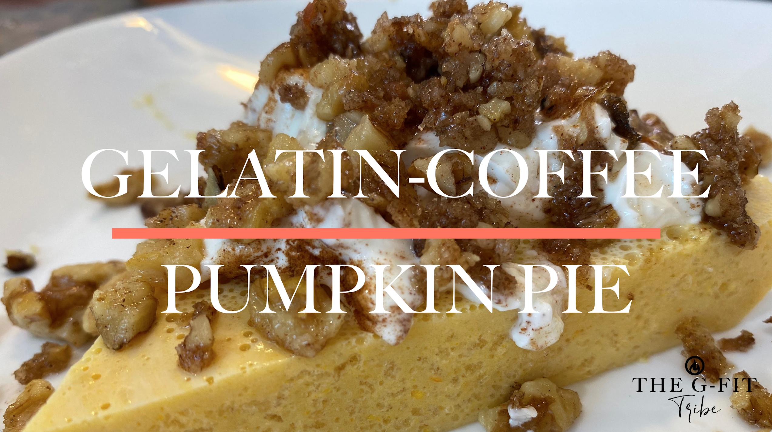 Gelatin Coffee Pumpkin Pie
