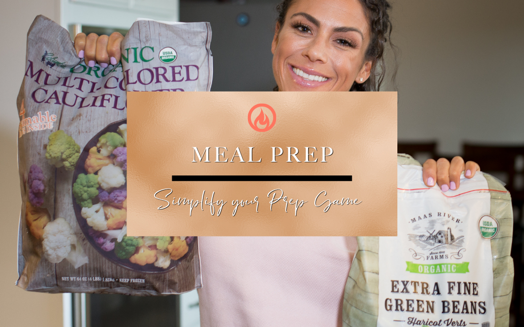 Meal Prep- Simplify Your Prep Game…