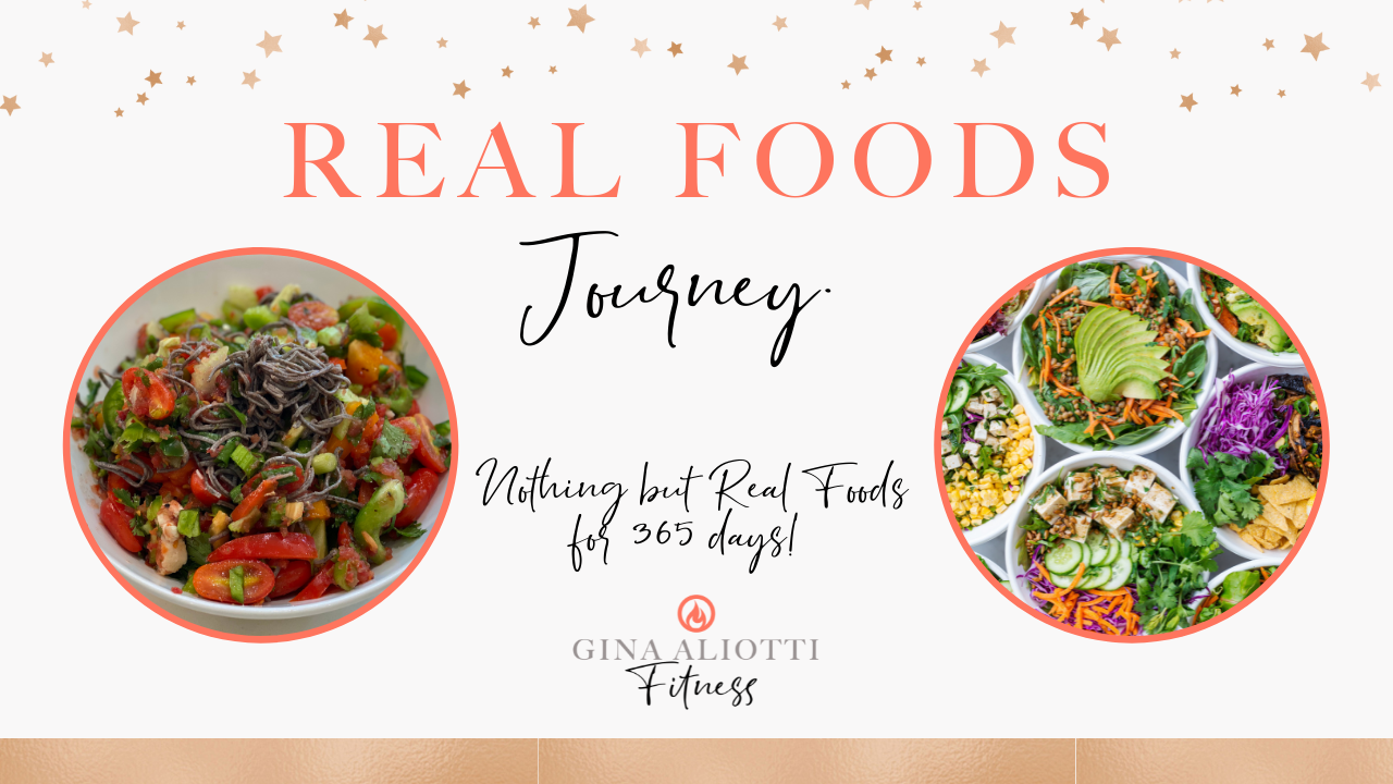 The 365 Day Real Foods Journey…