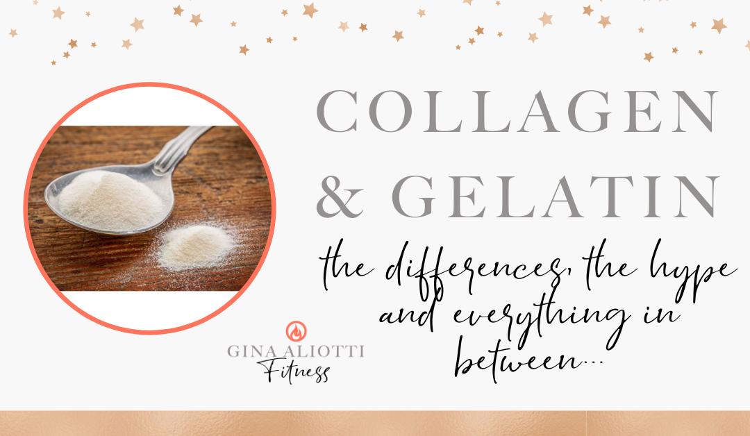 Gelatin Vs. Collagen 101